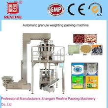 shanghai hot sell popcorn/soybean/seed/sugar/coffee bean/washing powder/monosodium glutamate packing production line