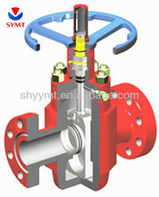 Non-rising Stem Gate Valve without the Balance Stem