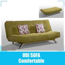 Fabric sofa cum bed/ click clack sofa bed #7899