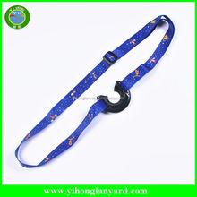 Custom Promotional gifts items wine glass holder lanyard , water bottle holder neck lanyard strap , bottle holder