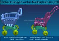 taizhou huangyan plastic injection shopping cart mold