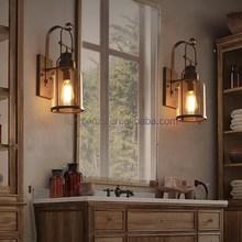 Cheap Wholesale Headboard Read Wall Lamp with Edison Bulbs