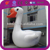 Giant white goose advertising inflatables for promotion attraction