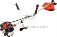 high quality china 33cc Brush Cutter grass trimmer with CE GS EU2 certicicates 3T blades