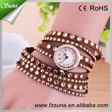Best Price Fashion Lady Vogue Watch Long Stral Luxury Cheap Diamond Watches