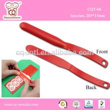 decoración de pasteles de herramientas el dulce spatule express de encaje