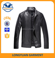 custom leather jacket manufacturer pu jacket small qty order accept