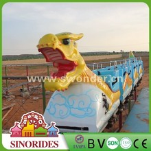 Gorgeous outdoor amusement park equipments roller coaster carnival games