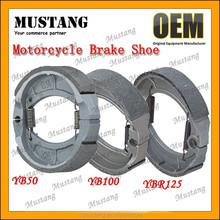 YB50 YB100 YBR125 GY6 Motorcycle Brake Shoe Manufacturer