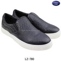 Slip on design pu leather latest model new men shoes 2015