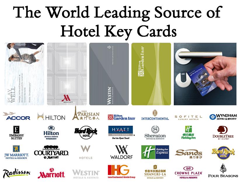 Быть-tech совместимость пластиковые RFID отель ключ-карта и магнитной полосой ключ-карта