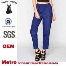 Wholesale Latest fashion design capri pants for women