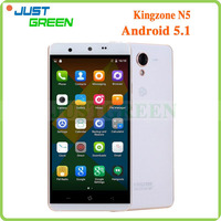 100% Original Brand Mobile Phone Kingzone N5 5.0 inch Android 5.1 OS