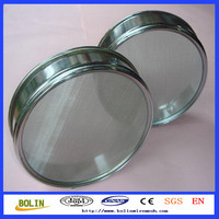 0.3mm stainless steel mesh sieve / circular wire mesh screen (free sample)
