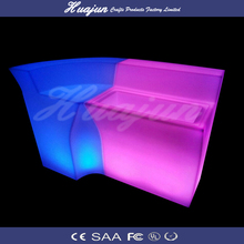 high quality 16 color change rechargeable led bar counter