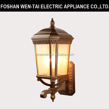 decorative outdoor park and street walk wall sconce lighting