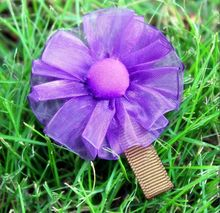 Handmade hair ornaments head ornaments children hairpin hairpin fashion flower trade