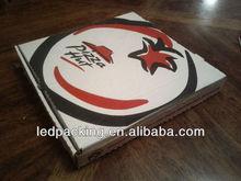 pulgadas 12 empaquetado de la caja de pizza para