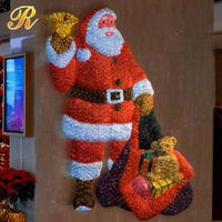 waterproof step light led outdoor plastic santa clause