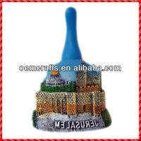 2013 Hot Selling Custom Made Ceramic Decorative Souvenir Bells