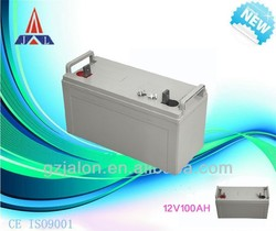 high quality gel batteries 12v 100ah solar battery recharg