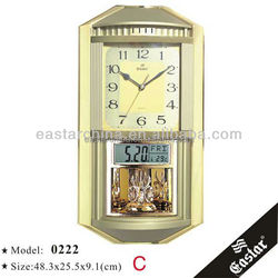 Wall clock with music 16 music houly chime