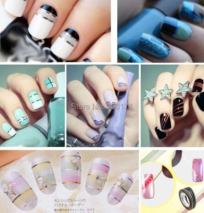20 Rolls Mix Colors Nail Art