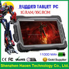 IP 67 Rugged Tablet PC 7 inch MTK6589T Quad Core Tablet PC 3G 1GB 16GB GPS WIFI BT Tablet PC Waterproof Shockproof IP67
