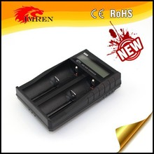 IMREN HB2 LCD AA/AAA NI-MH smart battery adapter usb charger vs TrustFire tr-001 multi battery(18650/18350) charger
