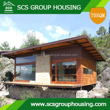 70M2 NEW CHALET OF STEEL PREFABRICATED HOUSE