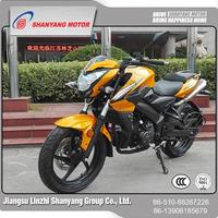 High efficiency air cooled bajaj boxer motorcycle