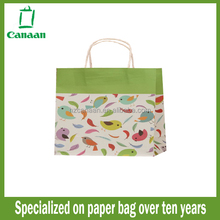 Fashionable factory direct kraft paper bag for rice