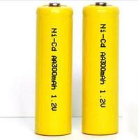 HUANYU Ni-Cd AA300mAh rechargeable battery