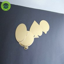 gold foil laminated heart shaped cake base boards