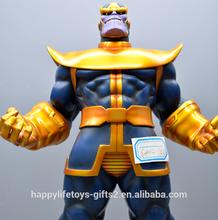 Americana marvel comics superhéroe Thanos resina figura de acción