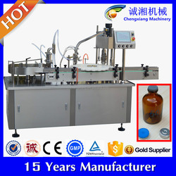 Auto supply of liquid vial filling stoppering machine,filling machine for sale