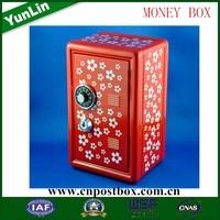 Hot sale motorcycles customize metal coin saving box coin bank