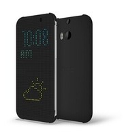 In Stock Dot View Mobile Phone Case For HTC One M8, For HTC one M8 dot view Case