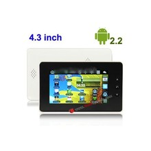4.3 inch tablet Touch Screen Android 2.2 aPad Style Tablet PC with WIFI, 360 Degree Menu Rotate tablet pc touch