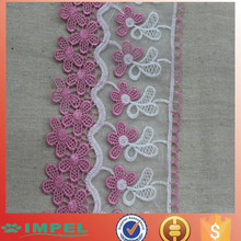 Sell stocking double color african lace fabric