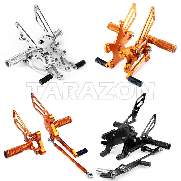 Cnc Billet Parts Top Quality Rear Sets Motorcycle Foot Controls ...