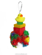 eco-friendly pet toys bird toys made by natural and clean wood LB257