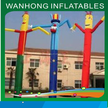 Advertising small inflatable cartoon,air dancer,sky dancers cartoon