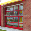 Sectional Aluminum Glass Garage Sliding Screen Door