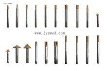 Long life diamond Rotary Burrs for grinding stone granite concrete made in China