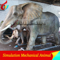 Well Customized Animatronic Animal Elephant