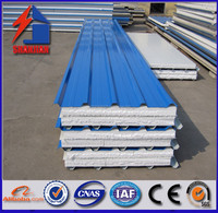 china supplier EPS sanwich panel 100mm for prefab house