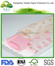 hot sell food wrapping wax coated paper