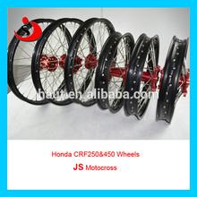 Cr hondas 125/250 crf250r/crf450r llantasdealeación para la supermoto/motocross/bici de la suciedad