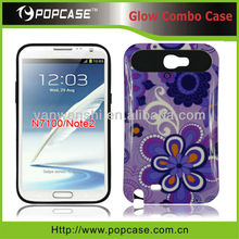 For Samsung Galaxy Note 2 N7100 Glow Combo Phone Covers
